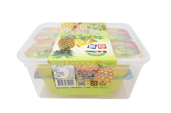 D004 Piña Sabor Jelly Box - 468g