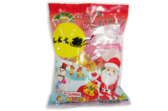 Xmas Assorted Fruit Jelly B004