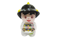 Assorted Jelly in Boy Firefighter Jar M004