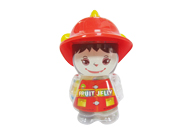 Assorted Jelly in Girl Firefighter Jar M005