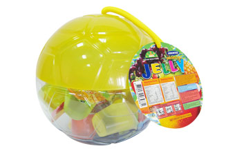 Soccer Ball Jar - Yellow M008